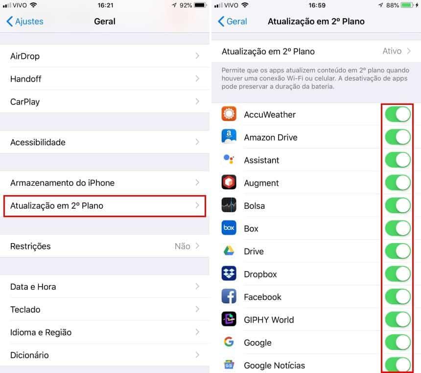 Dicas para economizar bateria no iPhone